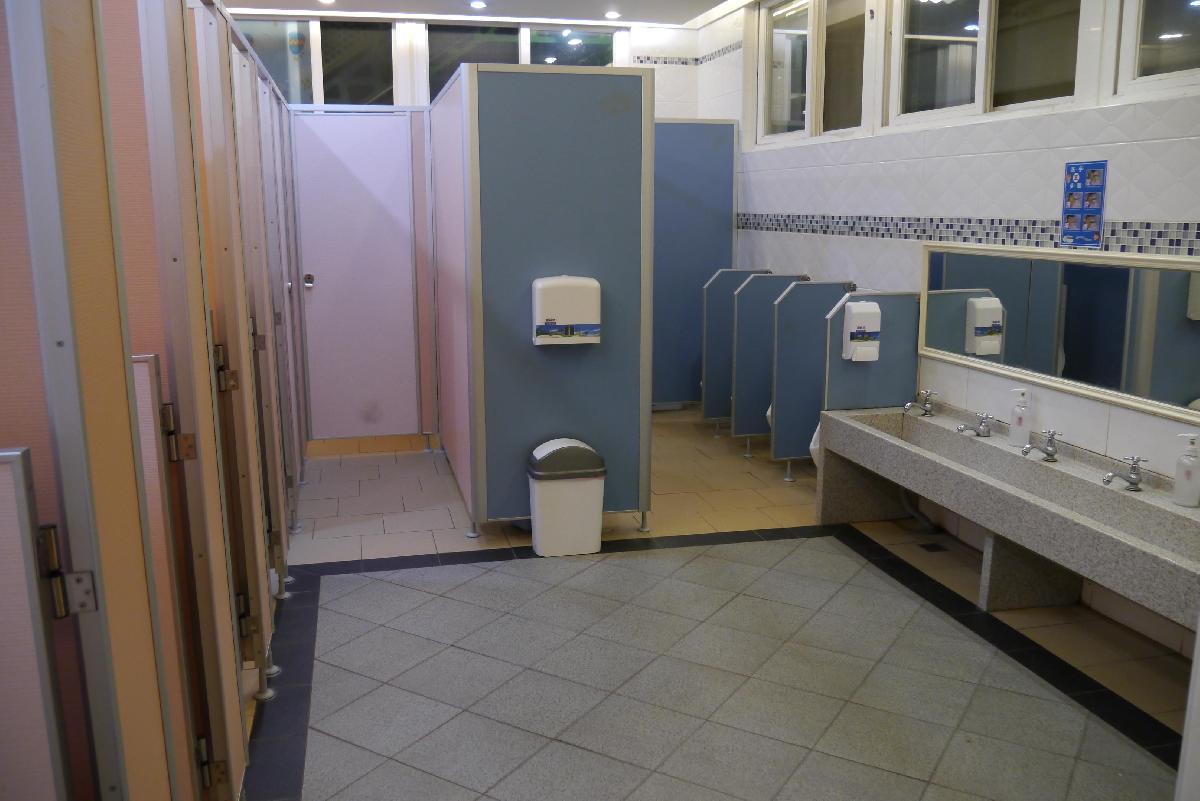 衛生乾淨的如廁空間